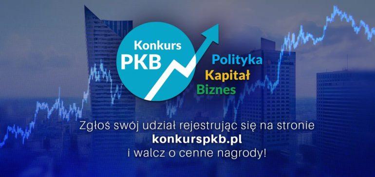 Zapraszamy do udziału w konkursie PKB