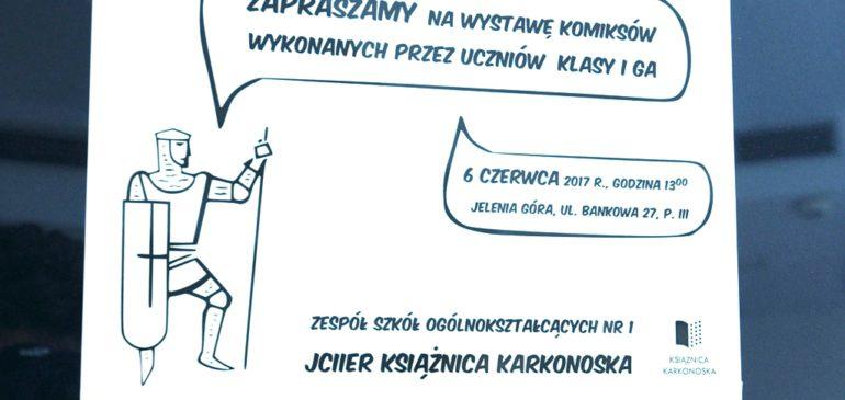 Wystawa komiksów klasy 1ga