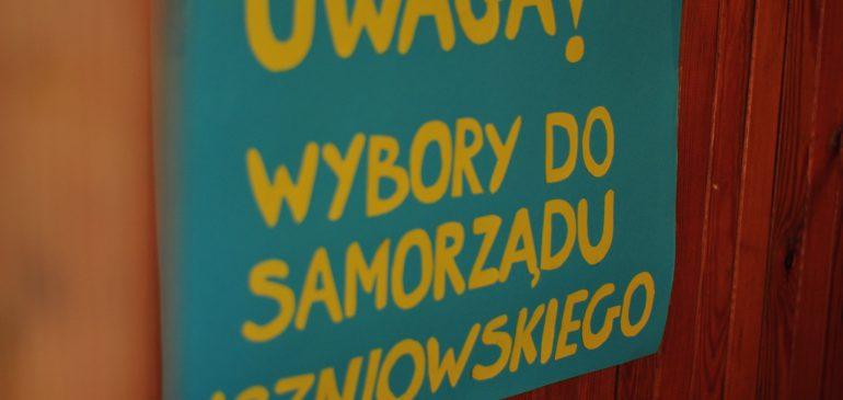 Wybory przewodniczącego Samorządu uczniowskiego