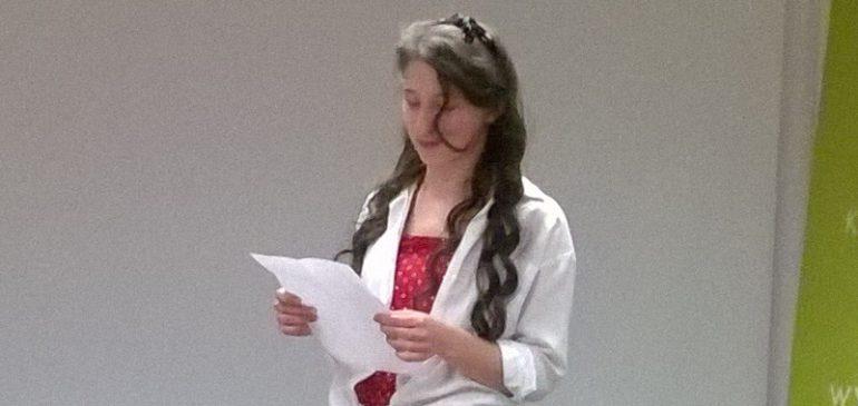 Monika Mielniczuk zwyciężczynią Wielkiego Wierszowania