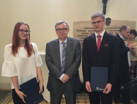 Hania i Paweł wywalczyli indeksy Uniwersytetu Jagiellońskiego!