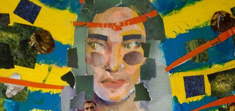 Praca Miriam na wystawie w BWA