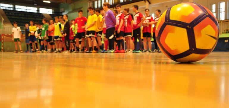 Mistrzowie futsalu z Gimnazjum