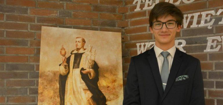 Sukces ucznia naszego liceum na XXIX Olimpiadzie Teologii Katolickiej