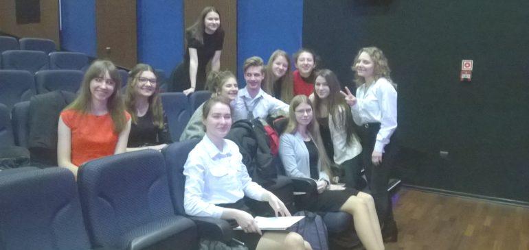 Sukces uczniów w etapie miejskim 64 Ogólnopolskiego Konkursu Recytatorskiego