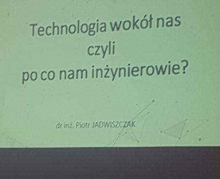 Dzień  Politechniki Wrocławskiej w ZSO Nr 1