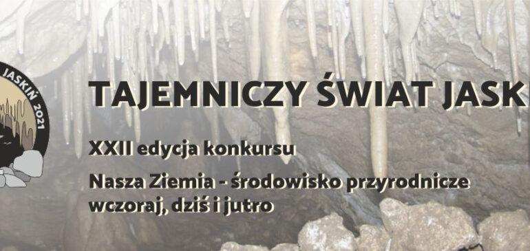 Sukces w konkursie Tajemniczy świat jaskiń